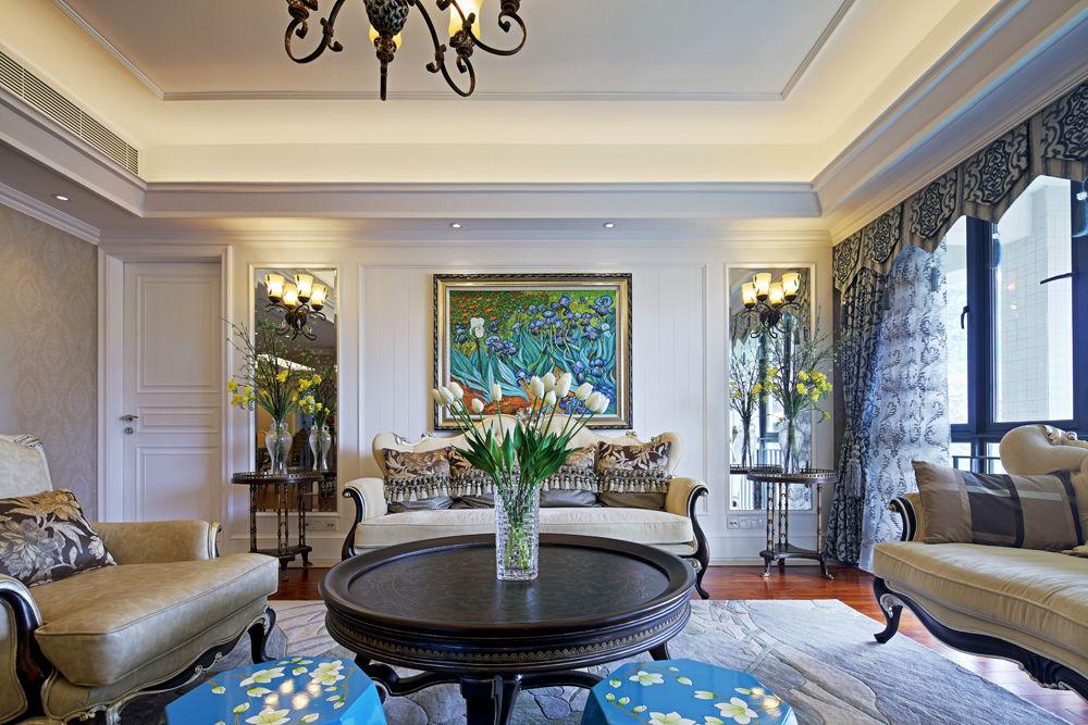 欧式装修搭配中式家具