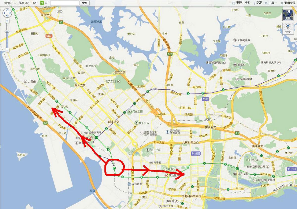 曼哈顿半岛地图