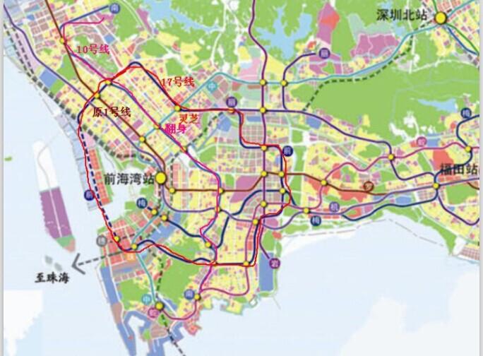 穿越宝安老城区地铁规划几时能兑现?