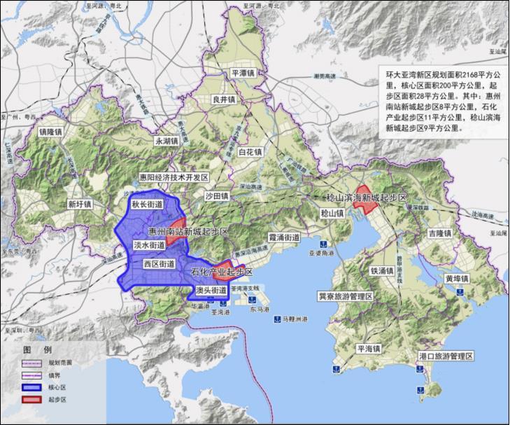 平潭岛电子高清地图