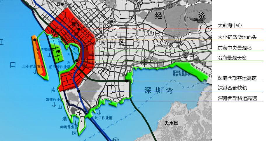 香港机场的西部快轨项目考虑高速通道及快