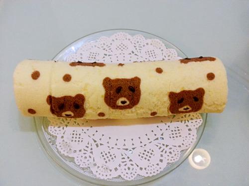 可爱的蛋糕卷们~~~近期自制蛋糕卷及其它美食大集合