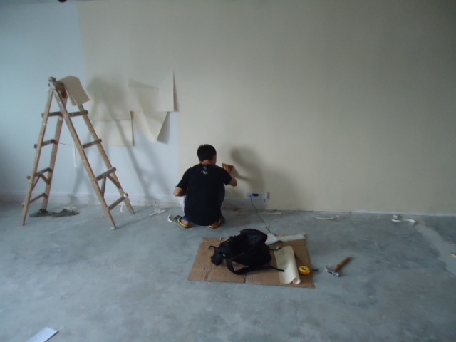 铺地板施工图   沙发 只看此人