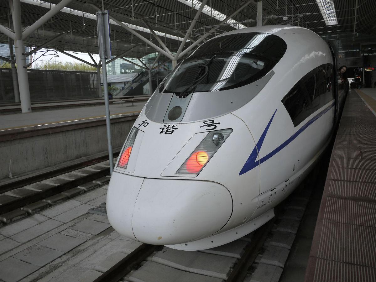 中国crh和谐号动车科普贴
