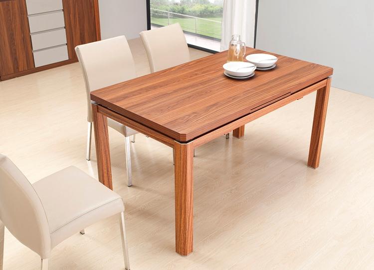 全新芝华士胡桃木纹餐桌
