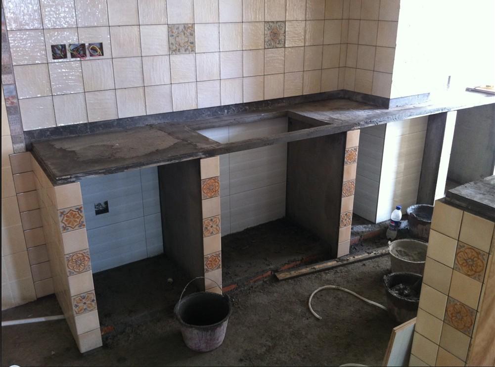 水泥橱柜专帖(含过程步骤和施工图片)