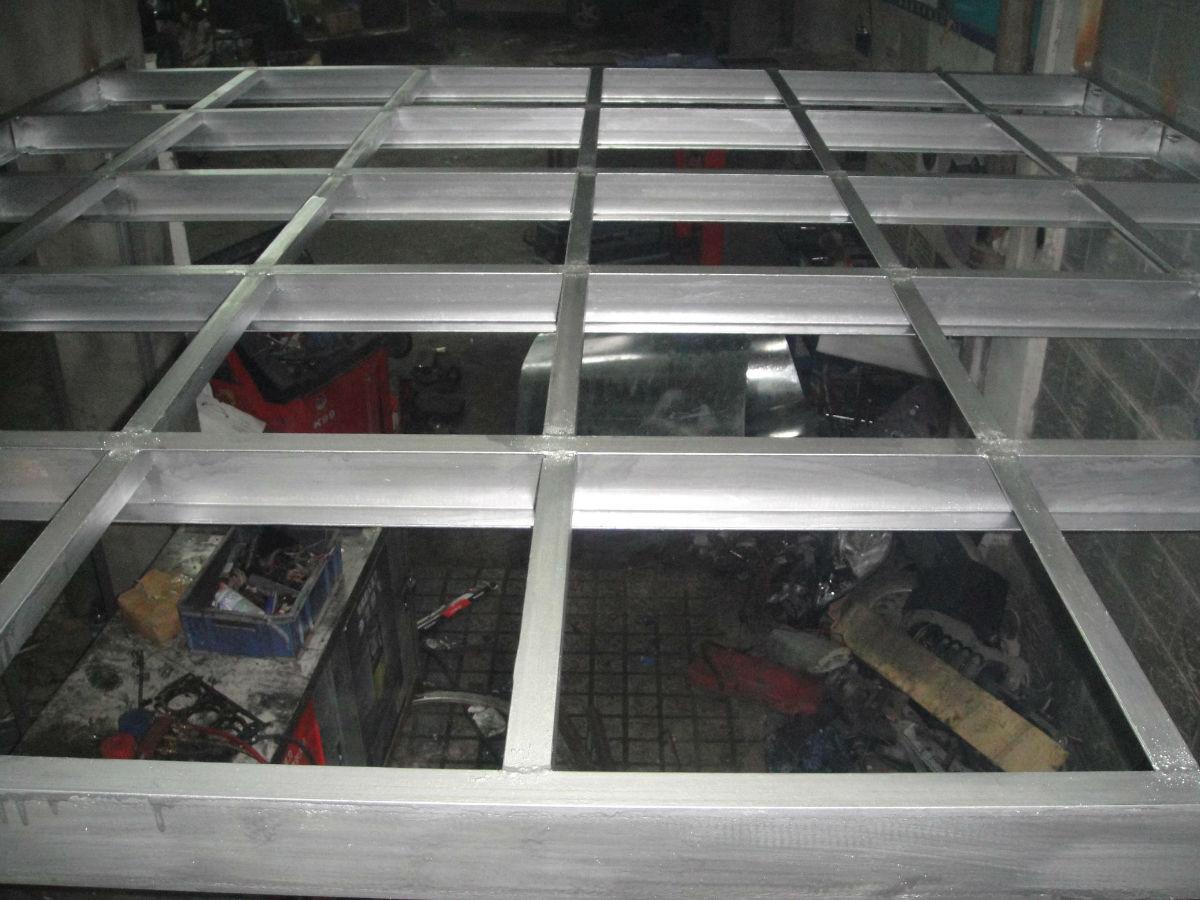 钢结构搭建楼板招标
