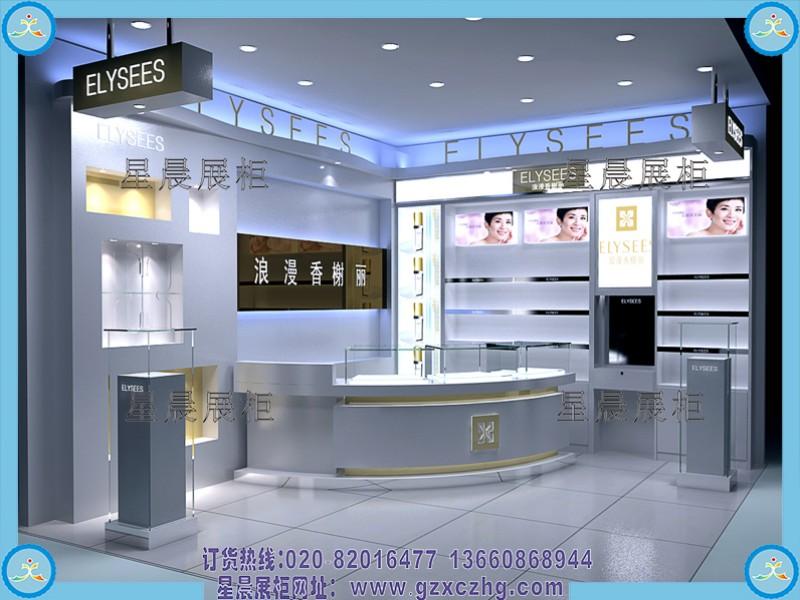 家在深圳  装修论坛 装修采购  > 化妆品店装修图_化妆品展柜设计图
