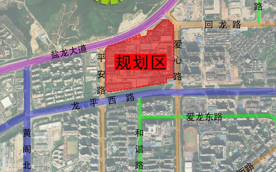 0705回龙埔新工业区城市更新单元规划