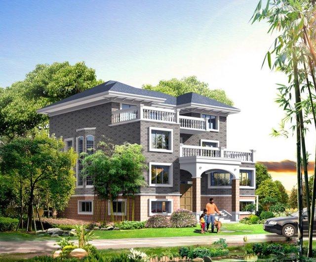 12套新農村自建房設計效果圖 打破傳統居住模式