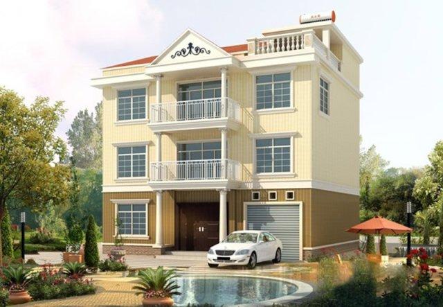 12套新农村自建房设计效果图