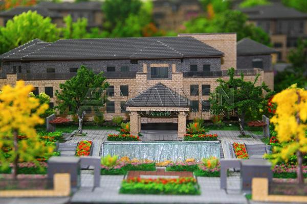 ▎洛阳半山溪谷别墅模型