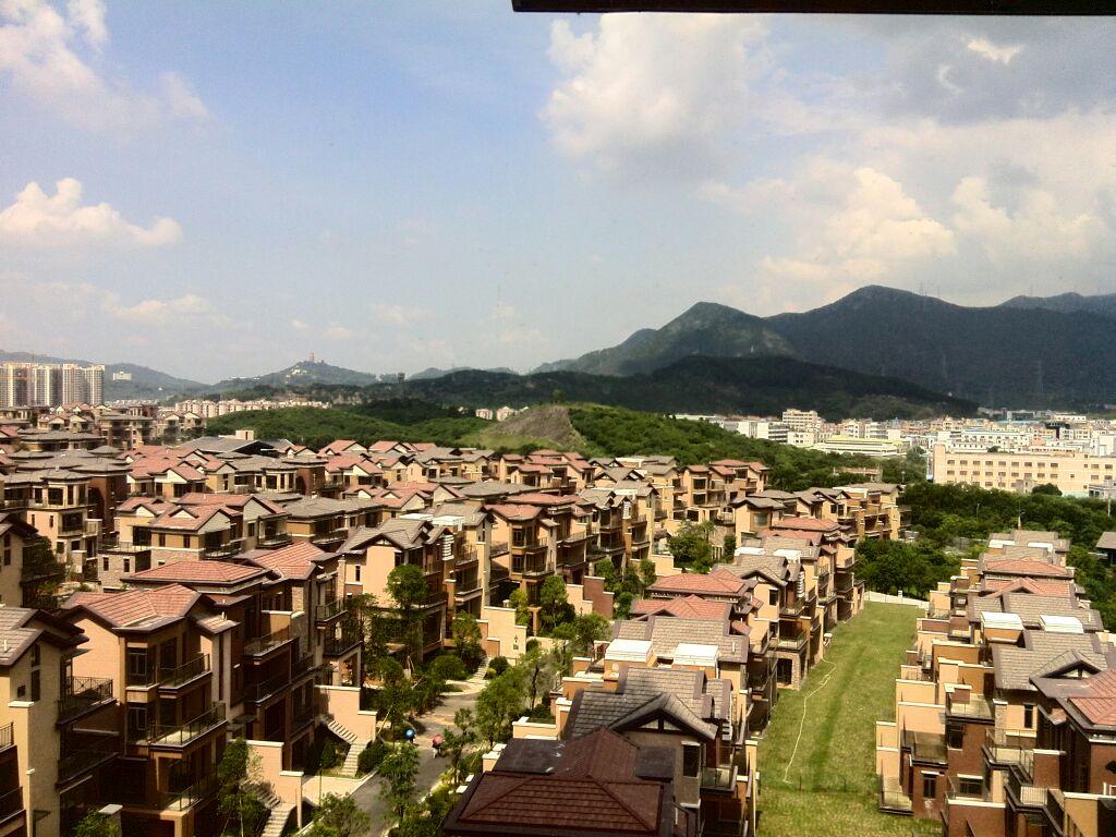 【最美保利生态城】窗外的美景      参观高层