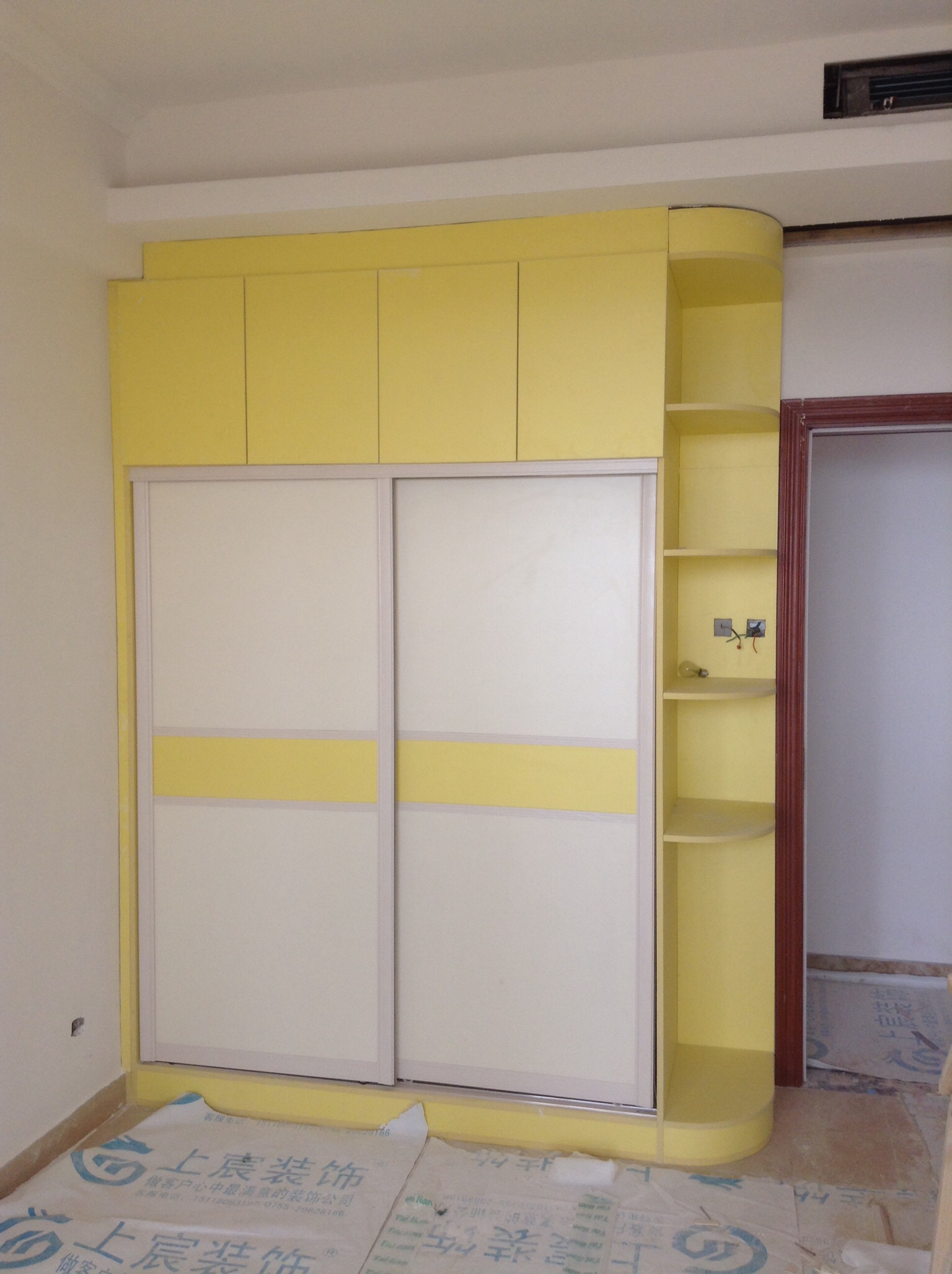 免漆板衣柜图片