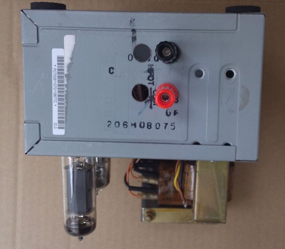 diy了单声道的电子管功放机
